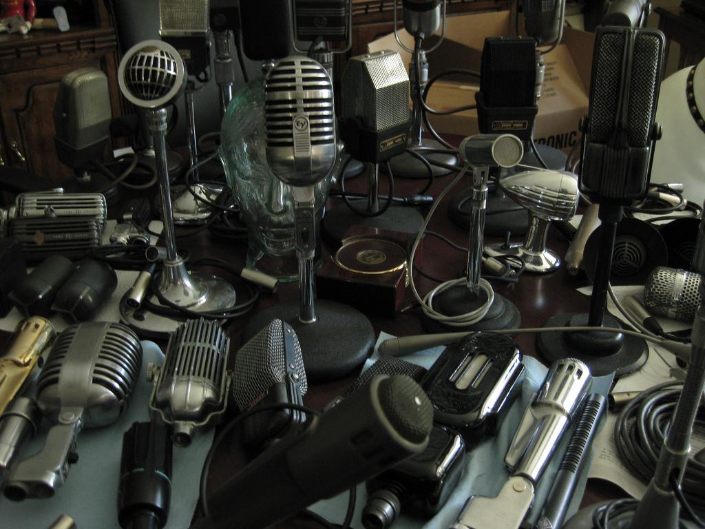 Many microphones